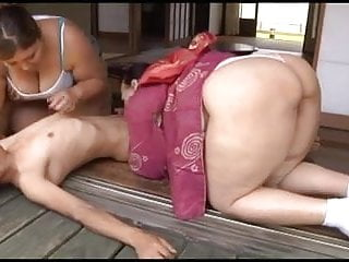 Two fat asian MILF