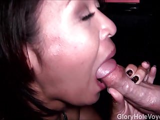 Asian Mother Daughter Real Gloryhole Compilation 2